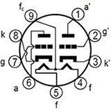 12BH7 Dual Triode